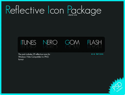 Reflective Icon Package Vol. 1