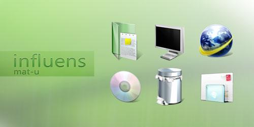 influens icons