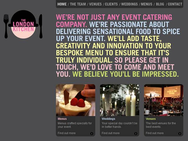 25 delightful restaurant website designs web graphic