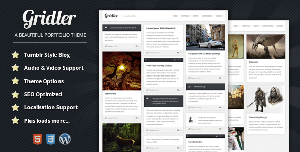 25 Awesome Wordpress Tumblr Themes | Web & Graphic Design | Bashooka