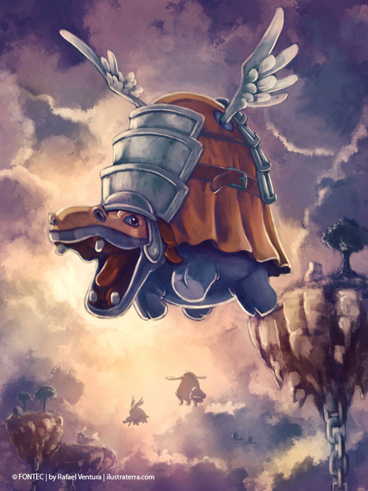 Flying War Hippo