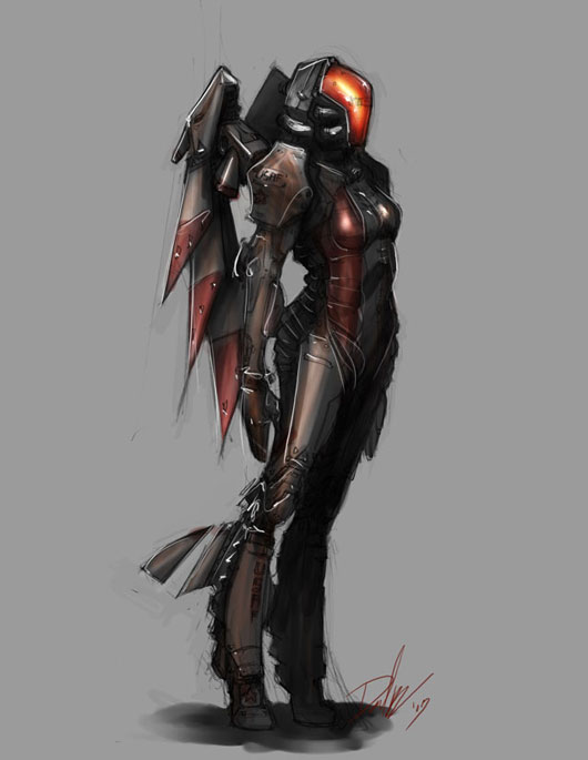 40 Amazing Video Game Character Concept Art | Web & Graphic Design ...
