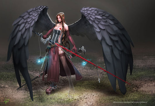 Lily - Fallen Angel