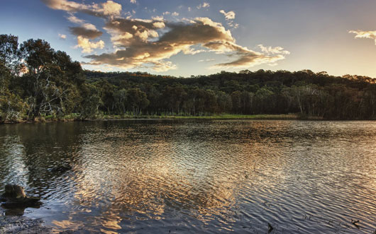 Narrabeen Lake 2 wallpaper
