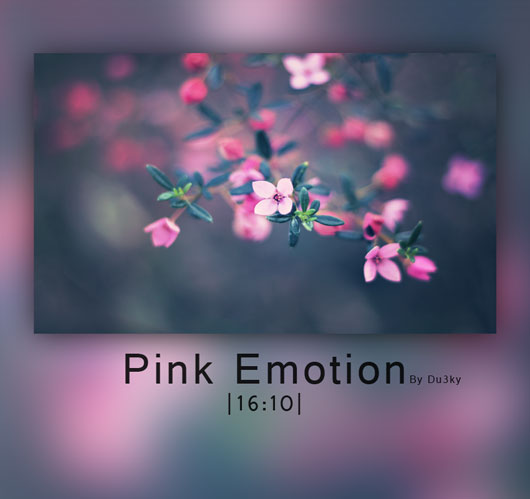 Pink Emotion wallpaper