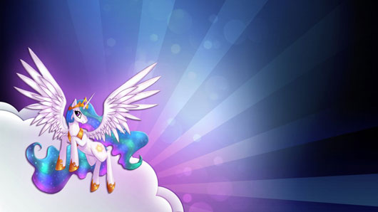 Princess Celestia 1080p wallpaper