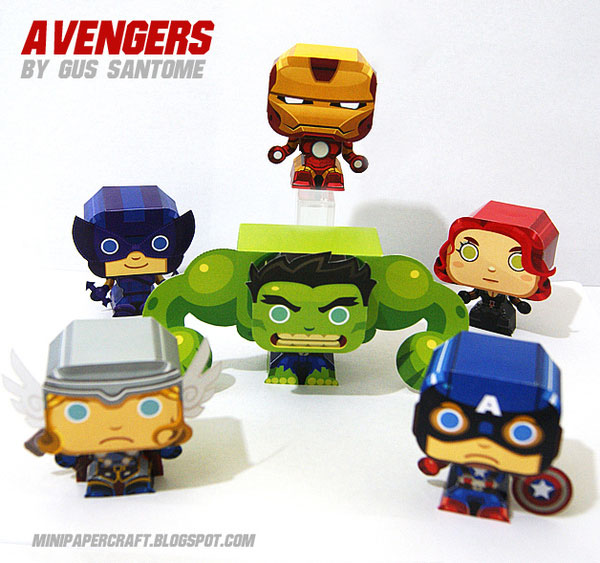 avenger-mini-papercraft-7