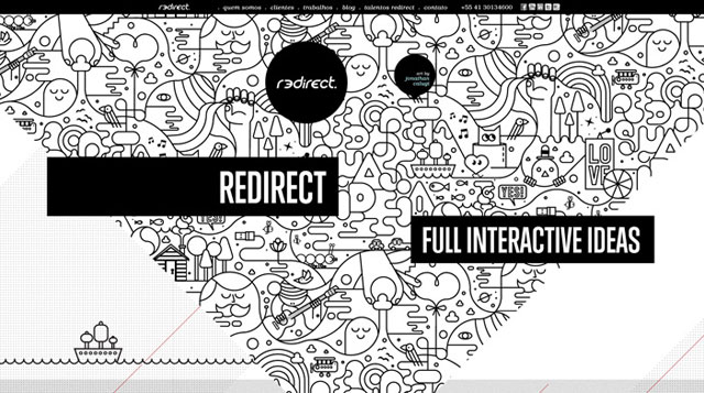 45 stunning black and white website designs