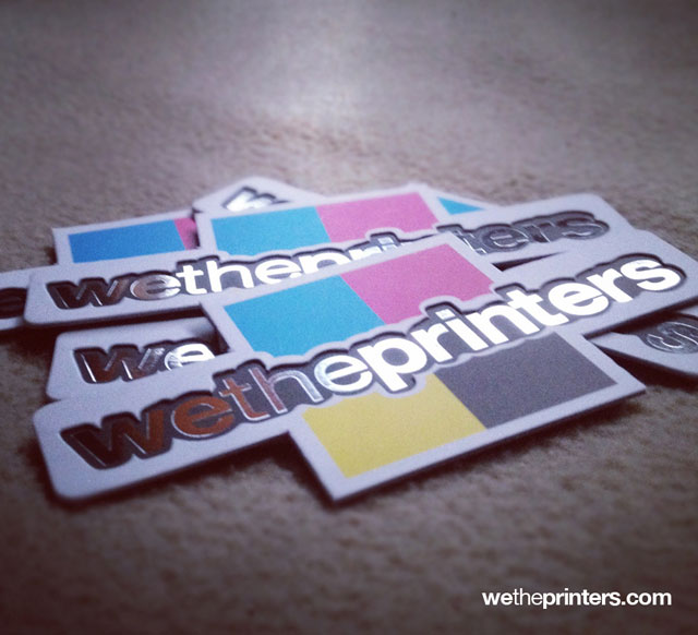 25 Awesome Die Cut Business Card Examples