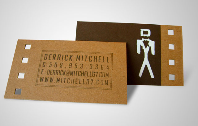DERRICK MITCHELL DESIGN : business cards