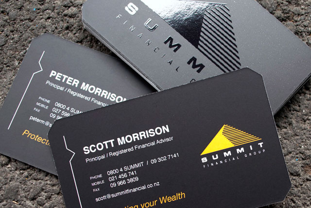 Summit Financial Business Cards