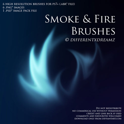 Smoke and Fire Brushes