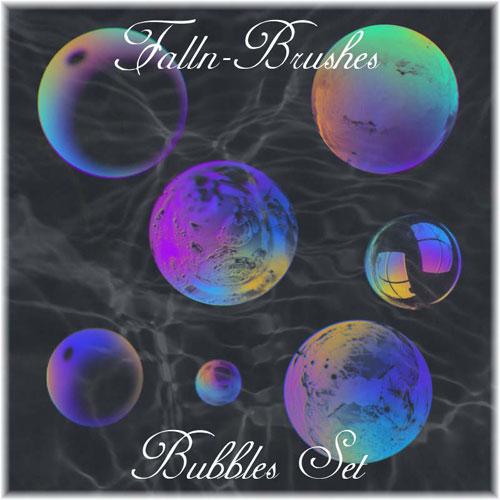 Bubbles Brushes Set