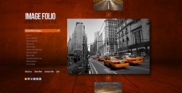 AS3 Imagefolio Portfolio Template