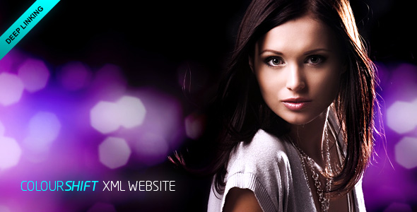 ColourShift XML Website Template