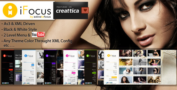 iFocus Photography XML Template