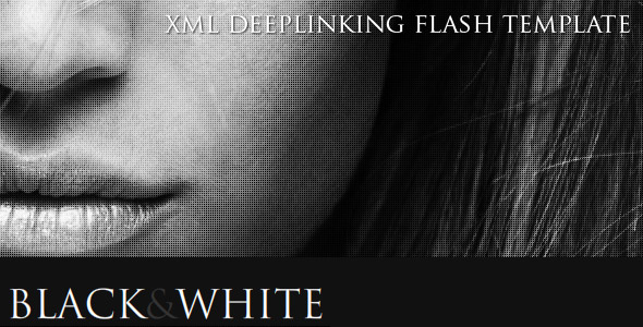 Black & White Deeplinking Template
