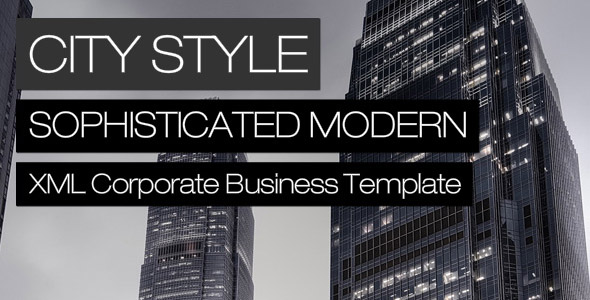City Style XML Deeplinking Template