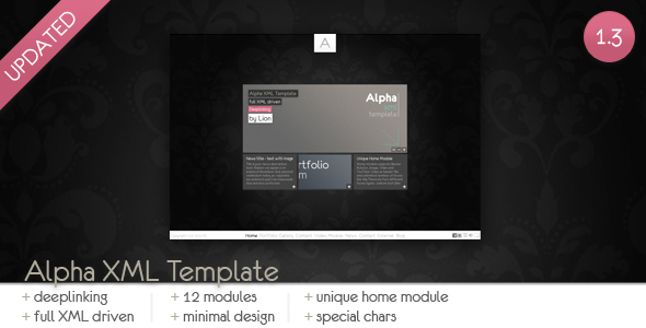 Alpha XML Template