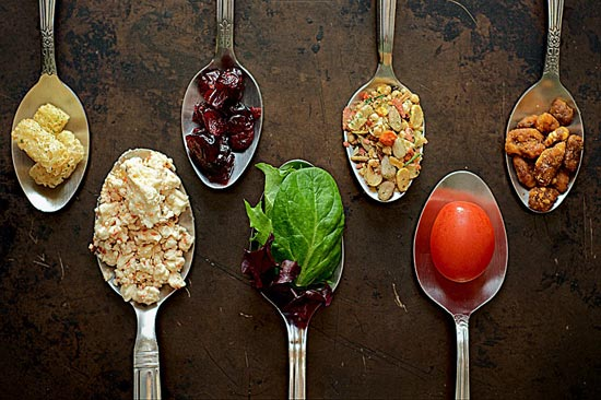 salad, take two: fancy restaurant style