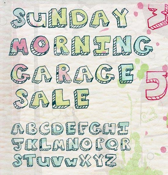 Sunday Morning Garage Sale
