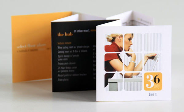 Awesome Mini Brochure Designs  Brochures Graphic Design