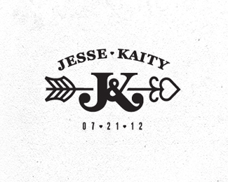 Jesse & Kaity wedding monogram