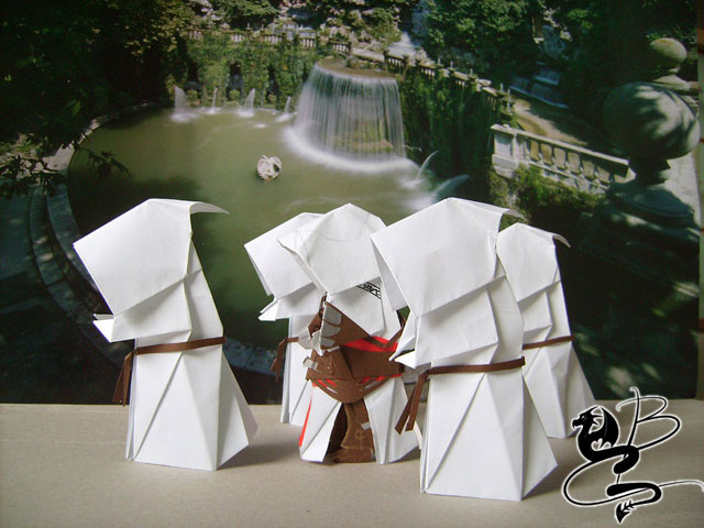 Assassins Creed Origami n.1
