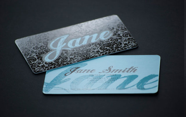 20 Cool Rounded Corner Business Cards