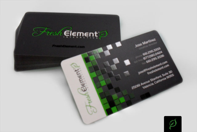 New Business Card for FreshElement