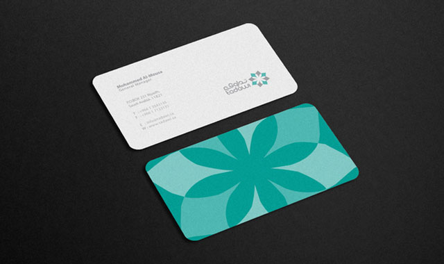 20 cool rounded corner business cards web graphic design