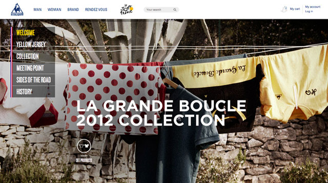Le Coq Sportif x le Tour de France 2012