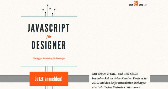 JavaScript for Designers