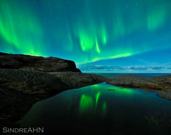 Aurora Reflections at Mjelle