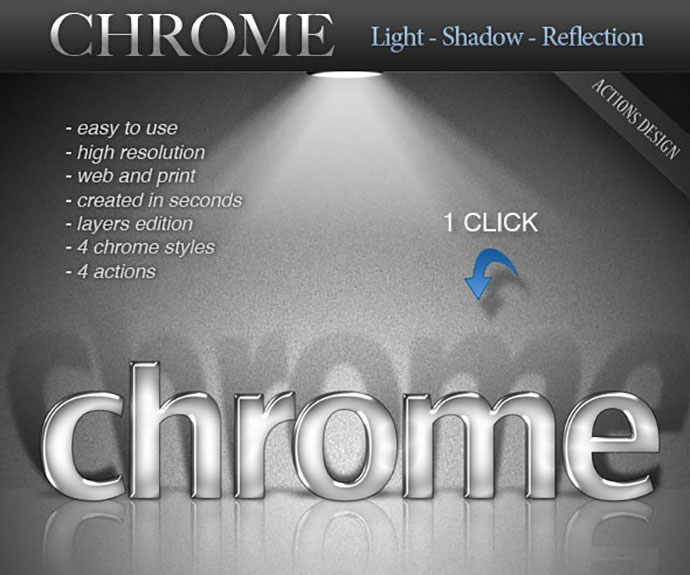 CHROME - Light - Shadow - Reflection