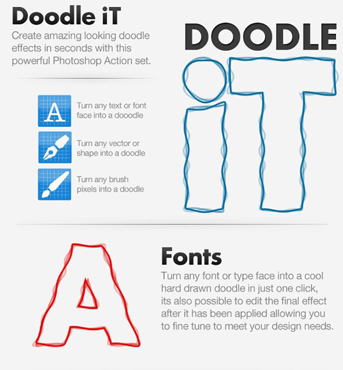 Doodle iT - Doodle Creating Action