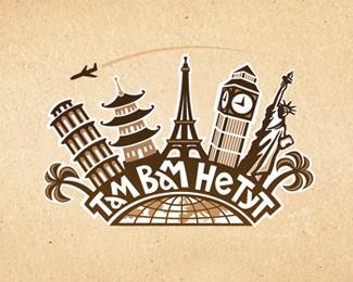 60 Creative Travel Logo Designs