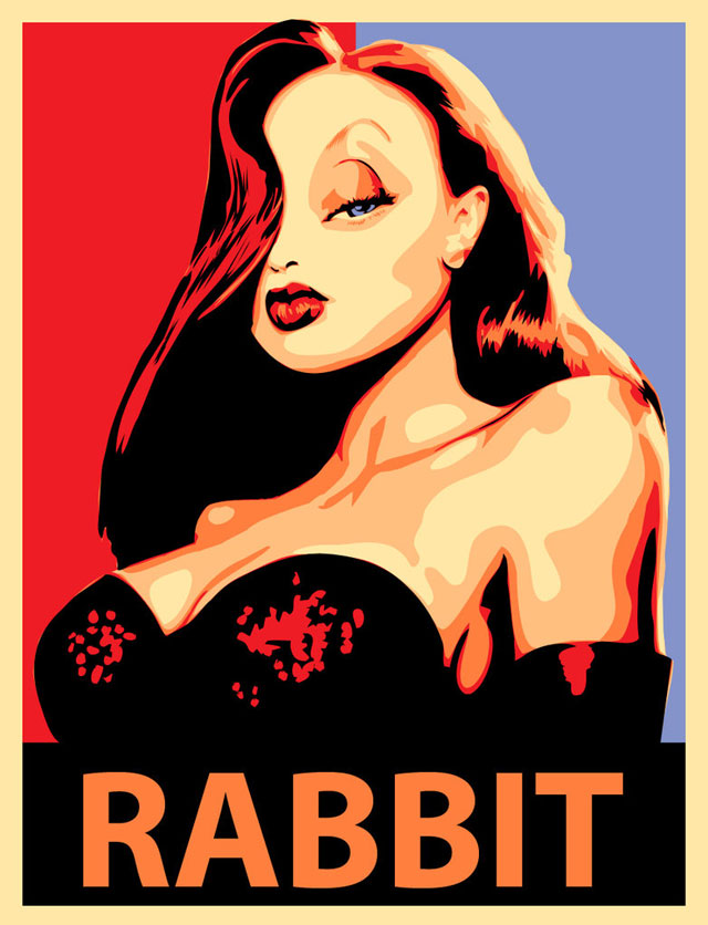 Jessica Rabbit Vector