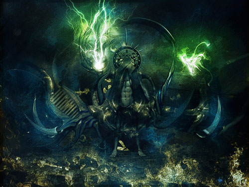 Magician-hermit