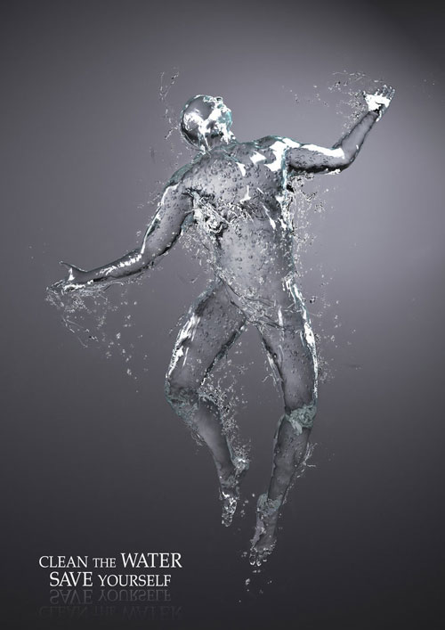 Water and human