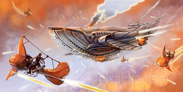 Original__Goldfish_Pirates_by_Risachantag-11
