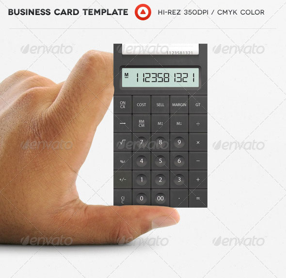 20 creative business card templates that help you stand out from the accountant business card fbccfo Image collections