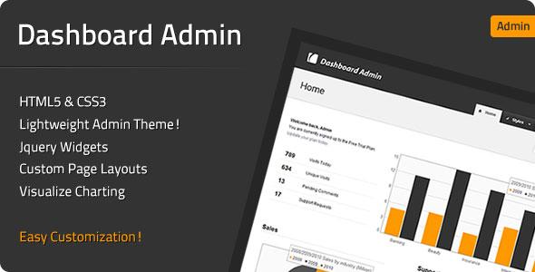 Dashboard Admin