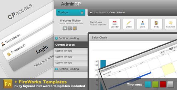 Admin Control Panel - Pro CP