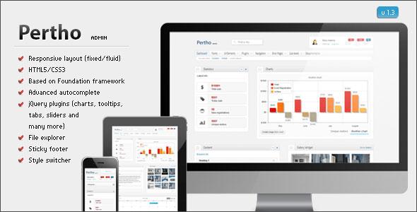 Pertho Admin Premium Template