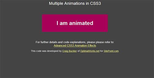 animation-css3