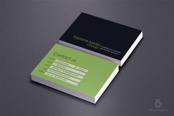 Business Card Keystone Media Group