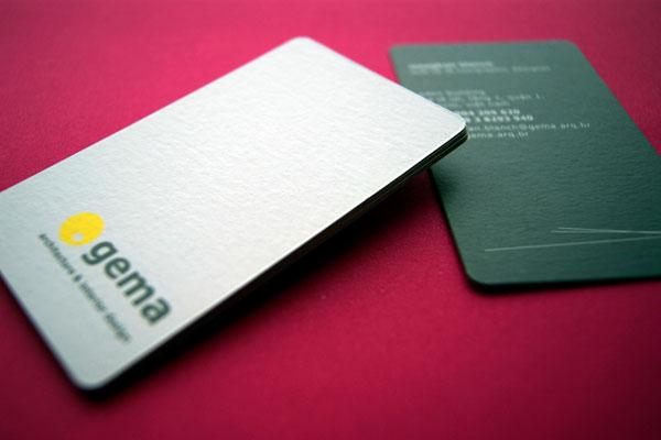 Gema Architecture & Interior Design. For full branding: www.behance.net/moogheads