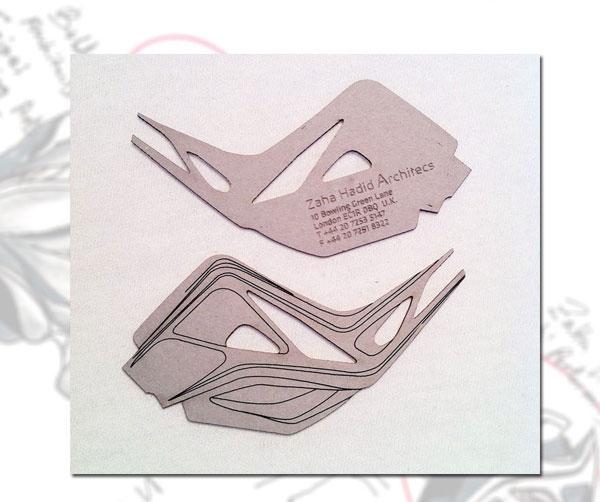 Zaha Hadid Architects business card