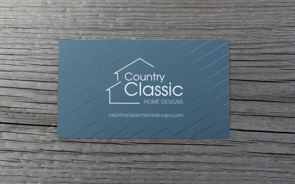 Country Classic Home Designs - Business Cards